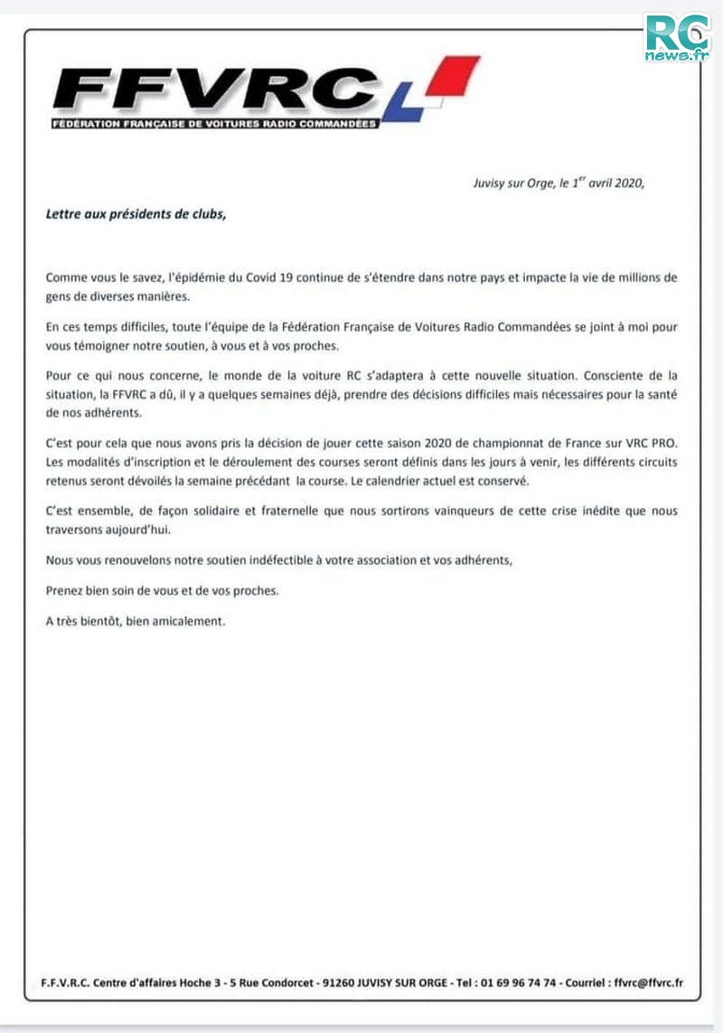RCnews.fr le site des nouveautés de la RC Française.